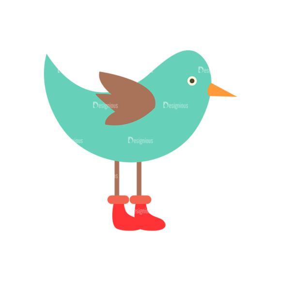 Cute Animals Bird Svg & Png Clipart Clip Art - SVG & PNG vector