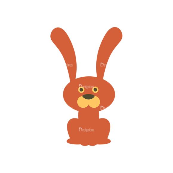 Cute Animals Bunny Svg & Png Clipart Clip Art - SVG & PNG vector