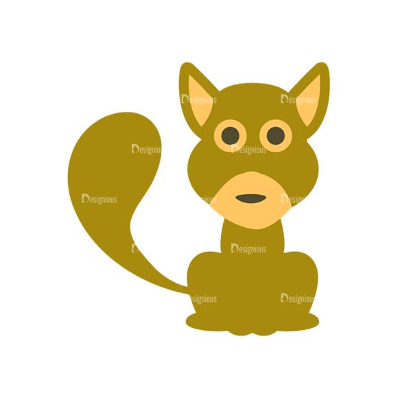Cute Animals Dog Svg & Png Clipart Clip Art - SVG & PNG vector