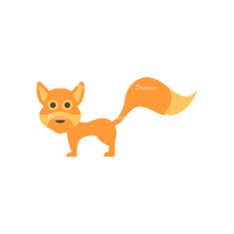 Cute Animals Fox Svg & Png Clipart Clip Art - SVG & PNG vector