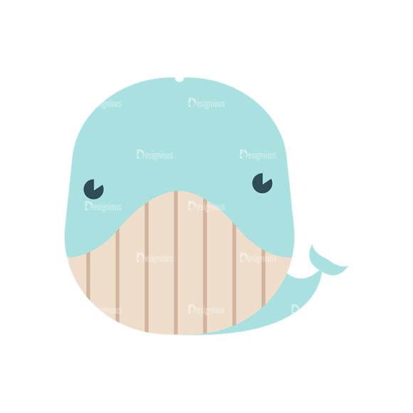 Cute Animals Dolphin Svg & Png Clipart Clip Art - SVG & PNG vector