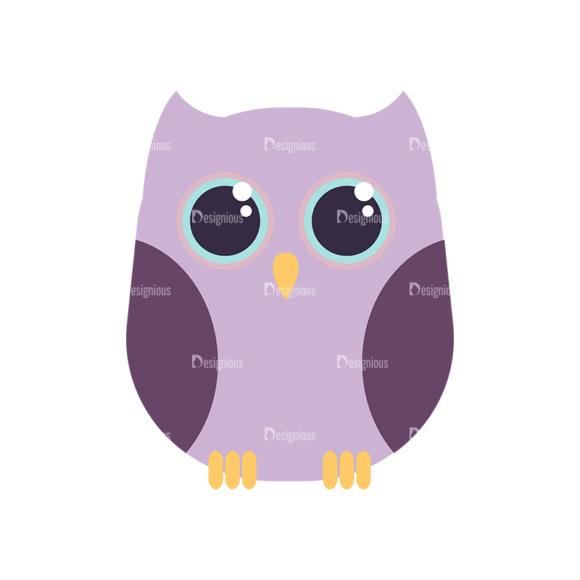 Cute Animals Owl Svg & Png Clipart Clip Art - SVG & PNG vector