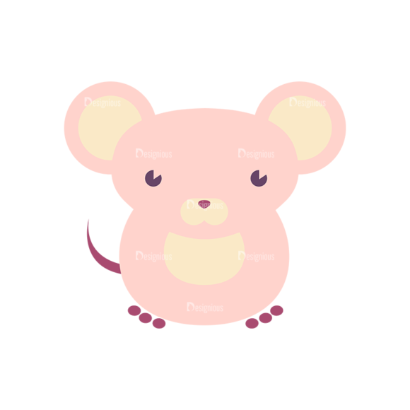 Cute Animals Rat Svg & Png Clipart Clip Art - SVG & PNG vector