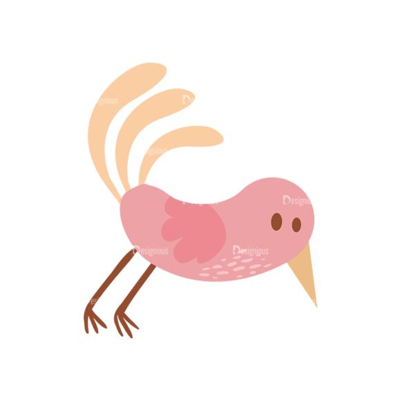 Cute Birds Bird Svg & Png Clipart cute birds vector set 6 vector Bird 02