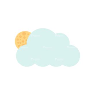 Cute Camping Cloudsandmoon Svg & Png Clipart Clip Art - SVG & PNG vector