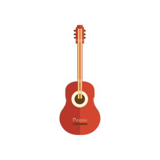 Cute Camping Guitar Svg & Png Clipart Clip Art - SVG & PNG vector