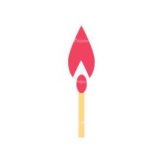 Cute Camping Match Svg & Png Clipart Clip Art - SVG & PNG vector