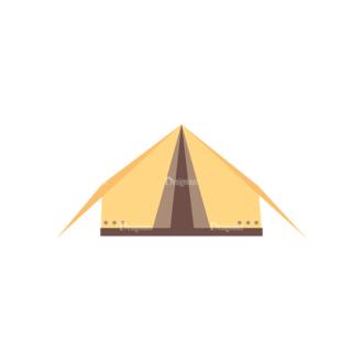 Cute Camping Tent Svg & Png Clipart Clip Art - SVG & PNG vector