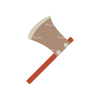 Cute Camping Axe Svg & Png Clipart Clip Art - SVG & PNG vector