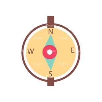 Cute Camping Compass Svg & Png Clipart Clip Art - SVG & PNG vector