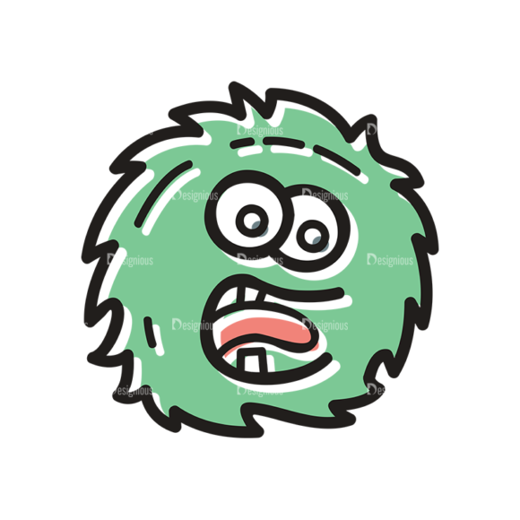 Cute Monsters Monster Svg & Png Clipart cute monsters set 11 vector monster 04