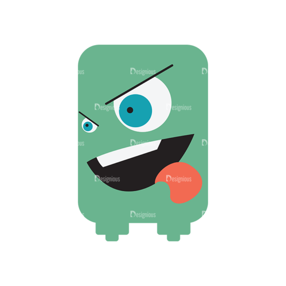 Cute Monsters Monster Svg & Png Clipart Clip Art - SVG & PNG vector