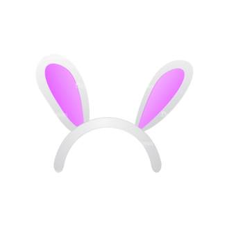 Cute Monsters Bunny Svg & Png Clipart Clip Art - SVG & PNG vector