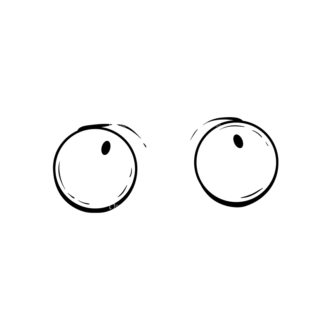 Cute Monsters Eyes Svg & Png Clipart Clip Art - SVG & PNG vector