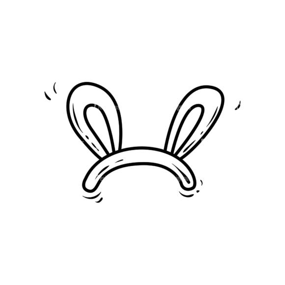 Cute Monsters Headband Svg & Png Clipart Clip Art - SVG & PNG vector