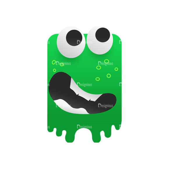 Cute Monsters Monster Svg & Png Clipart cute monsters vector vector monster 01