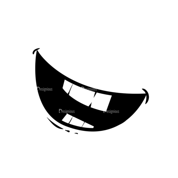 Cute Monsters Mouth Svg & Png Clipart cute monsters vector vector mouth 2 05