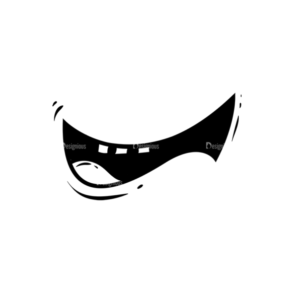 Cute Monsters Mouth Svg & Png Clipart Clip Art - SVG & PNG vector
