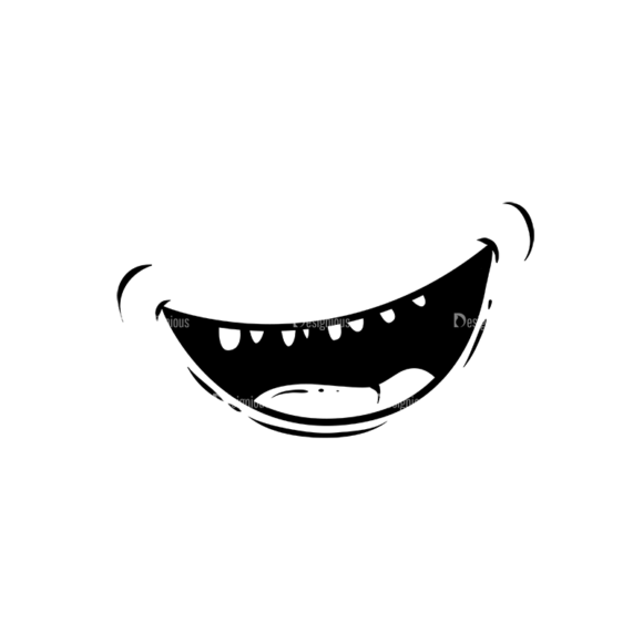 Cute Monsters Mouth Svg & Png Clipart cute monsters vector vector mouth 2 19