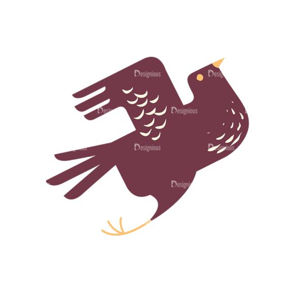 Cute Wild Animals Bird Svg & Png Clipart Clip Art - SVG & PNG vector