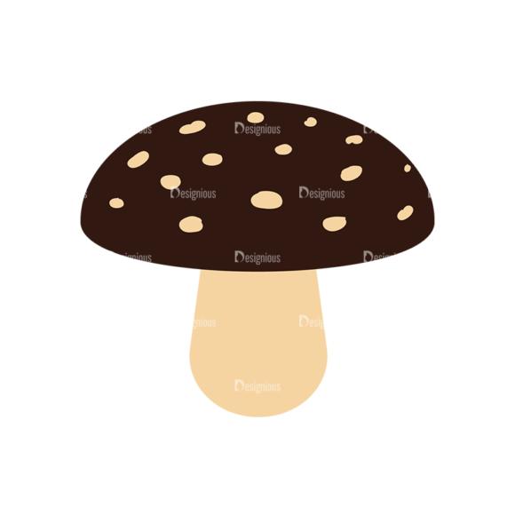 Cute Wild Animals Mushroom Svg & Png Clipart cute wild animals vector set 6 vector mushroom 26
