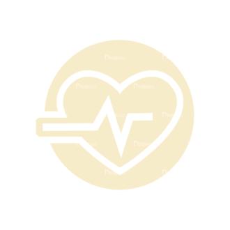 Fitness Logos Heart Beat Svg & Png Clipart Clip Art - SVG & PNG vector