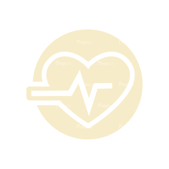 Fitness Logos Heart Beat Svg & Png Clipart Clip Art - SVG & PNG vector