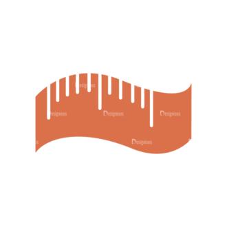 Fitness Logos Tape Measure Svg & Png Clipart Clip Art - SVG & PNG vector
