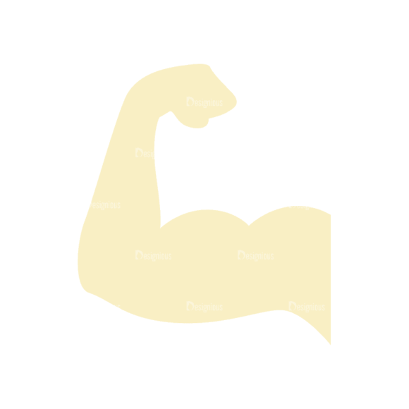 Fitness Trainer Arms Svg & Png Clipart Clip Art - SVG & PNG vector