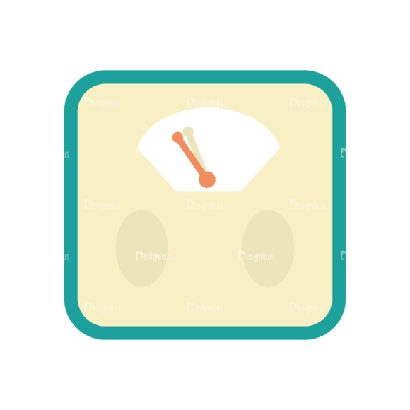 Fitness Trainer Weighing Scale Svg & Png Clipart Clip Art - SVG & PNG vector