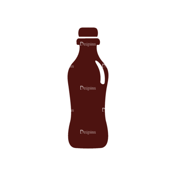 Fitness Elements Bottle Svg & Png Clipart Clip Art - SVG & PNG vector