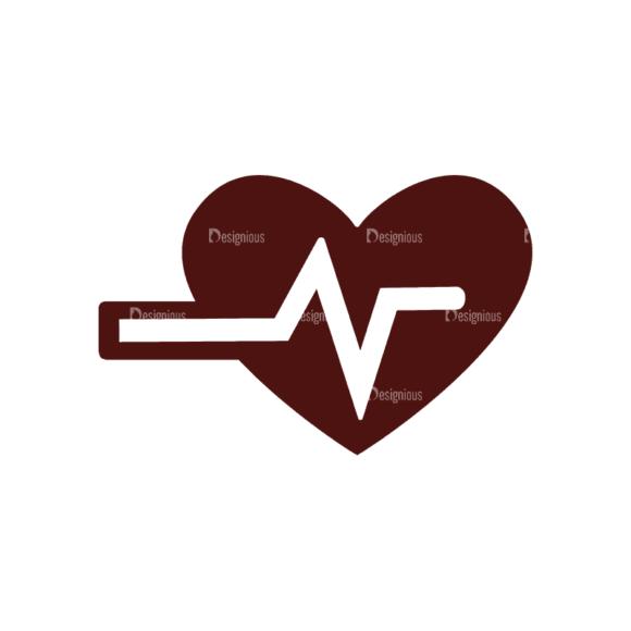 Fitness Elements Heart Svg & Png Clipart Clip Art - SVG & PNG vector