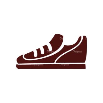 Fitness Elements Shoes Svg & Png Clipart Clip Art - SVG & PNG vector
