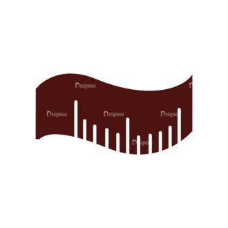 Fitness Elements Tape Measure Svg & Png Clipart Clip Art - SVG & PNG vector
