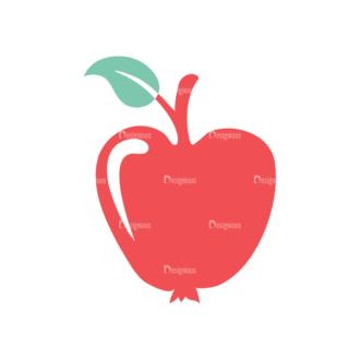 Fitness Apple Svg & Png Clipart Clip Art - SVG & PNG vector