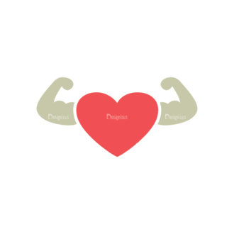 Fitness Arms Svg & Png Clipart Clip Art - SVG & PNG vector