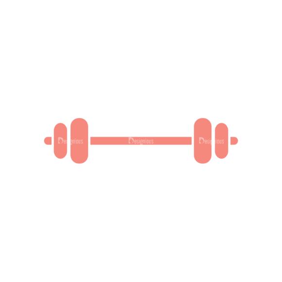 Fitness Barbell Svg & Png Clipart Clip Art - SVG & PNG vector