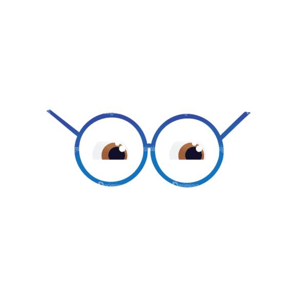 Geek Mascots Eyes Svg & Png Clipart geek mascots vector eyes 29