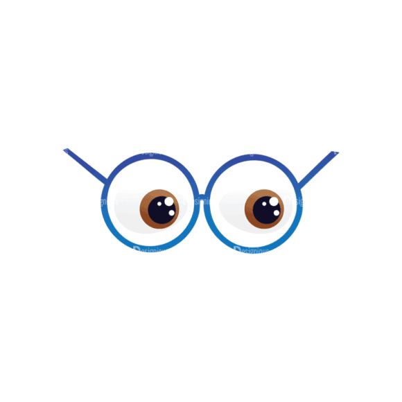 Geek Mascots Eyes Svg & Png Clipart geek mascots vector eyes 39