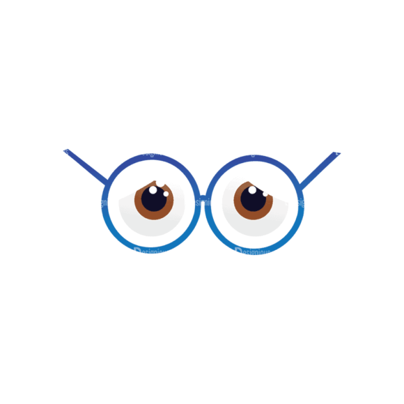 Geek Mascots Eyes Svg & Png Clipart geek mascots vector eyes 40
