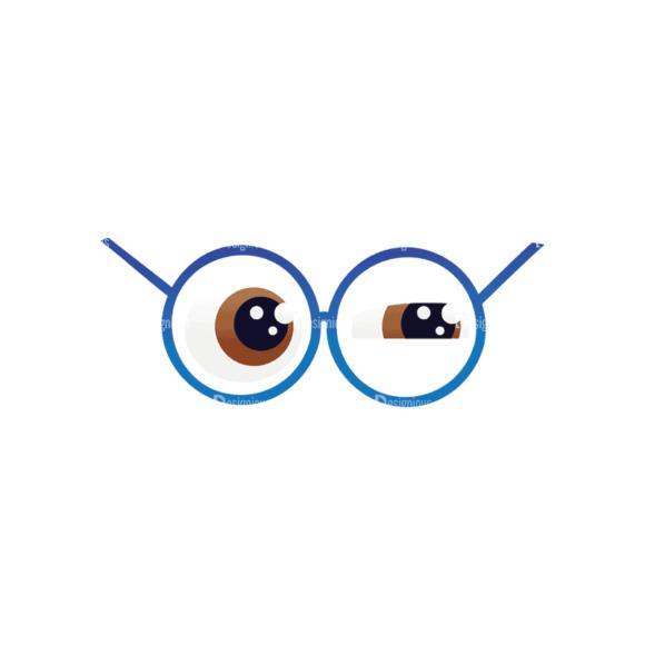 Geek Mascots Eyes Svg & Png Clipart geek mascots vector eyes 41