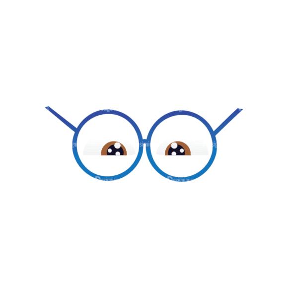 Geek Mascots Eyes Svg & Png Clipart geek mascots vector eyes 42