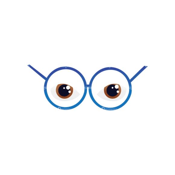 Geek Mascots Eyes Svg & Png Clipart geek mascots vector eyes 44