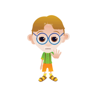 Geek Mascots Geek Mascot Svg & Png Clipart Clip Art - SVG & PNG vector