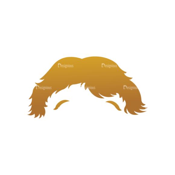 Geek Mascots Hair Svg & Png Clipart geek mascots vector hair 83