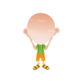 Geek Mascots Head And Body Svg & Png Clipart Clip Art - SVG & PNG vector