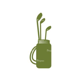 Golf Logos Golf Clubs Svg & Png Clipart Clip Art - SVG & PNG vector