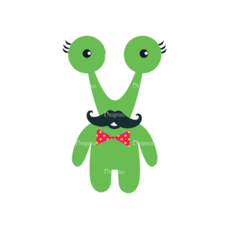 Hipster Monsters Monster Svg & Png Clipart Clip Art - SVG & PNG vector