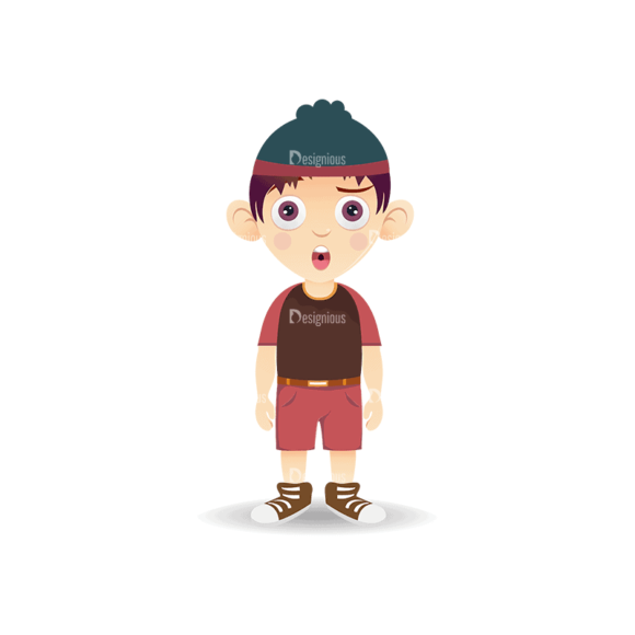 Manga Boy Boy Svg & Png Clipart manga boy vector set vector boy 07