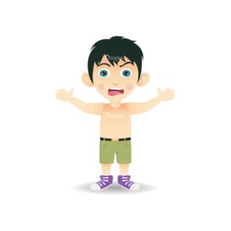 Manga Boy Boy Svg & Png Clipart Clip Art - SVG & PNG vector